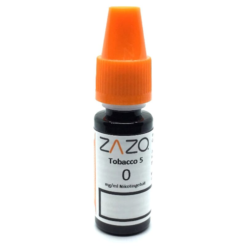 Zazo Tobacco 5 e-Liquid 10 ml – Bild 2