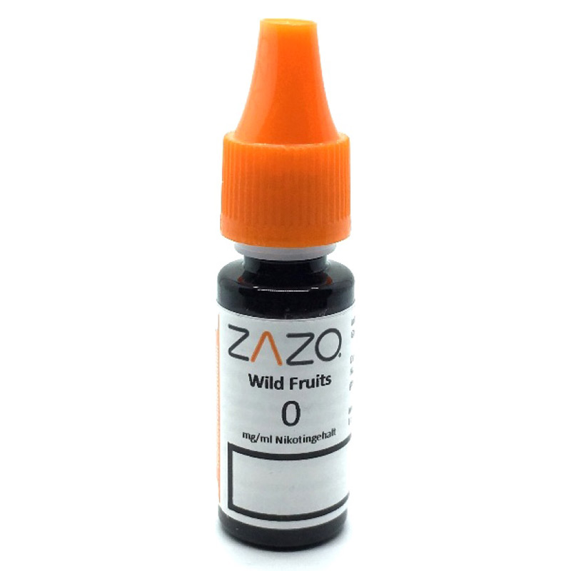 Zazo Wild Fruits e-Liquid 10 ml – Bild 2