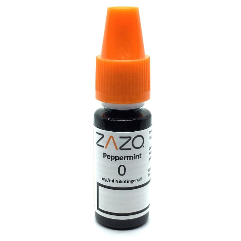 Zazo Peppermint e-Liquid 10 ml – Bild 2