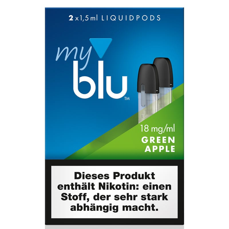 My Blu GreenApple Liquidpods 2er Pack – Bild 1