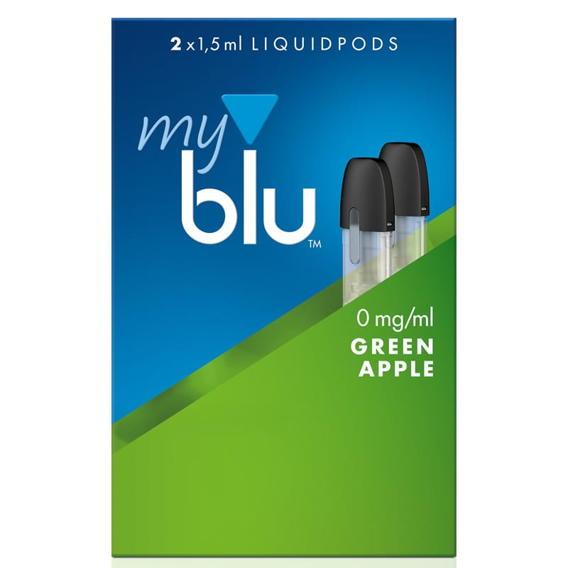 My Blu GreenApple Liquidpods 2er Pack – Bild 3