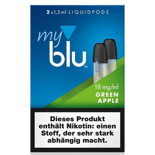 My Blu GreenApple Liquidpods 2er Pack