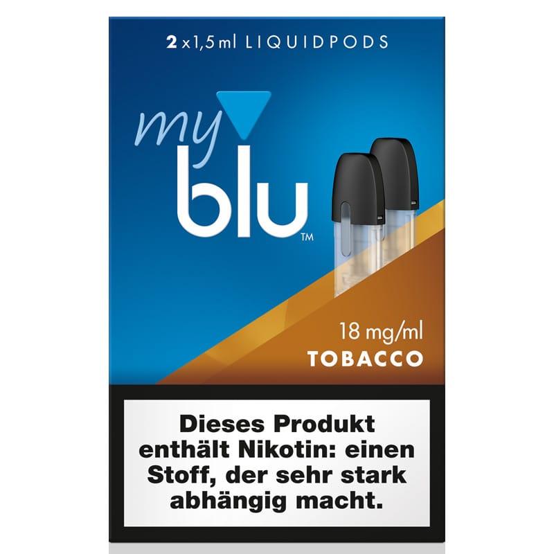 My Blu Tobacco Liquidpods 2er Pack – Bild 1