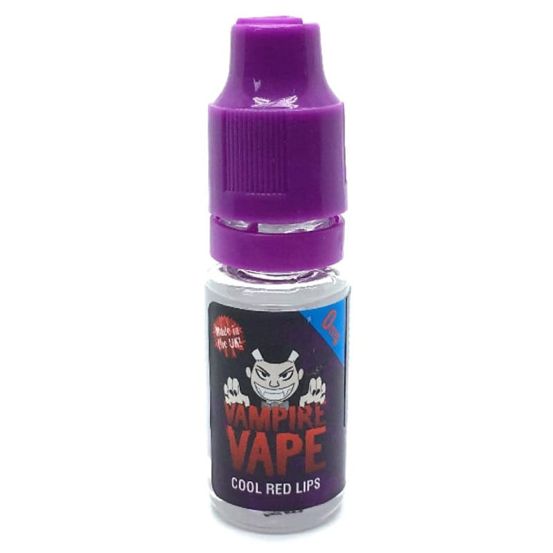 Vampire Vape Cool Red Lips Premium Liquid 10 ml – Bild 1