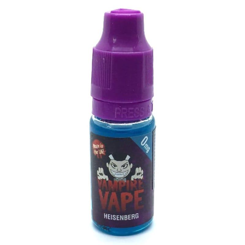 vampire vape heisenberg premium liquid 10 ml edampf shop. Black Bedroom Furniture Sets. Home Design Ideas