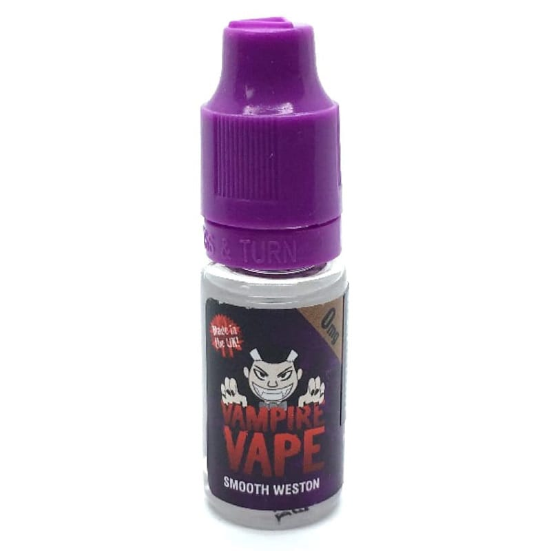 Vampire Vape Smooth Weston V2 Tabak Premium Liquid 10 ml – Bild 1