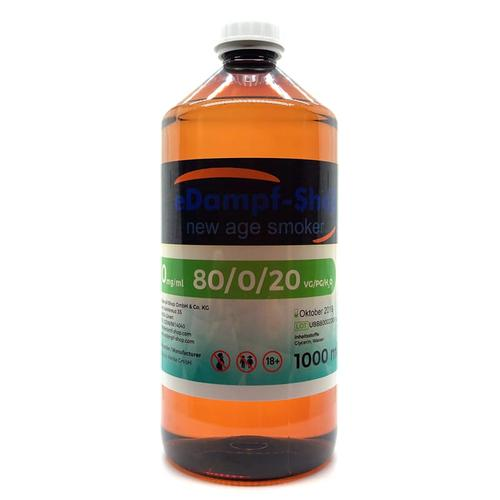 Ultrabio eLiquid Basis 1000 ml ohne Nikotin