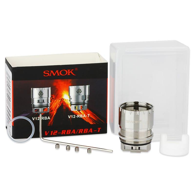 Smok TFV12 V12-RBA Single-Coil / Dual-Coil – Bild 2