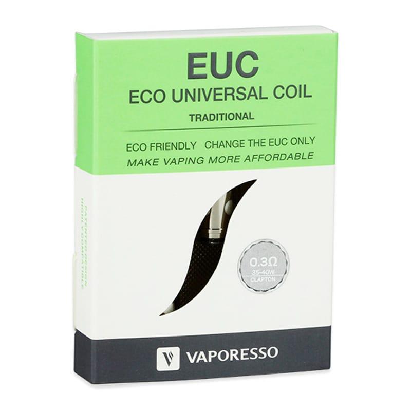 Vaporesso EUC Traditional Verdampferköpfe 0.3/0.4 Ohm 5er Pack – Bild 2