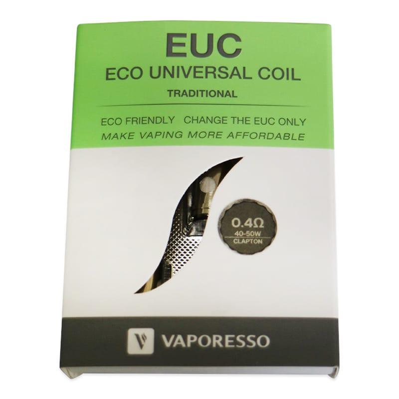 Vaporesso EUC Traditional Verdampferköpfe 0.3/0.4 Ohm 5er Pack – Bild 3