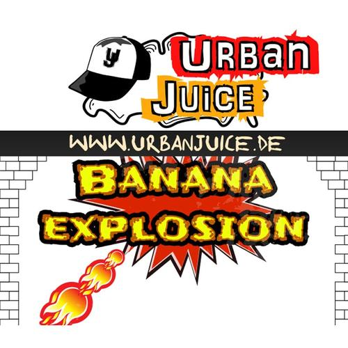 Urban Juice Banana Explosion Liquid 10 ml