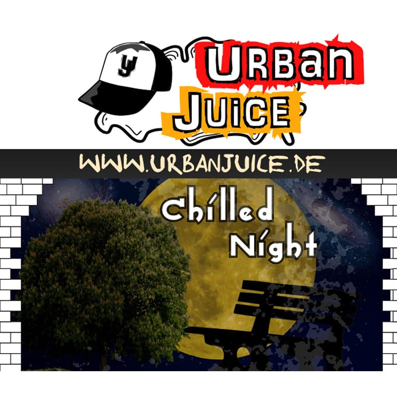 Urban Juice Chilled Night Tabak Liquid 10 ml – Bild 1