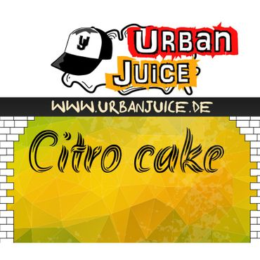 Urban Juice Citro Cake Liquid 10 ml