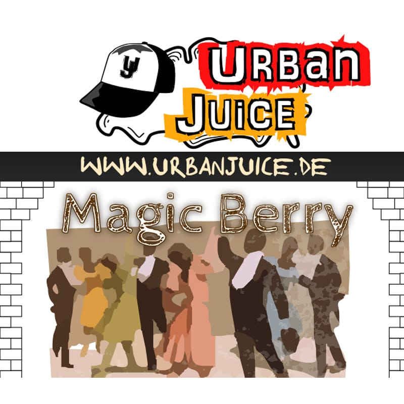 Urban Juice Magic Berry Liquid 10 ml – Bild 1