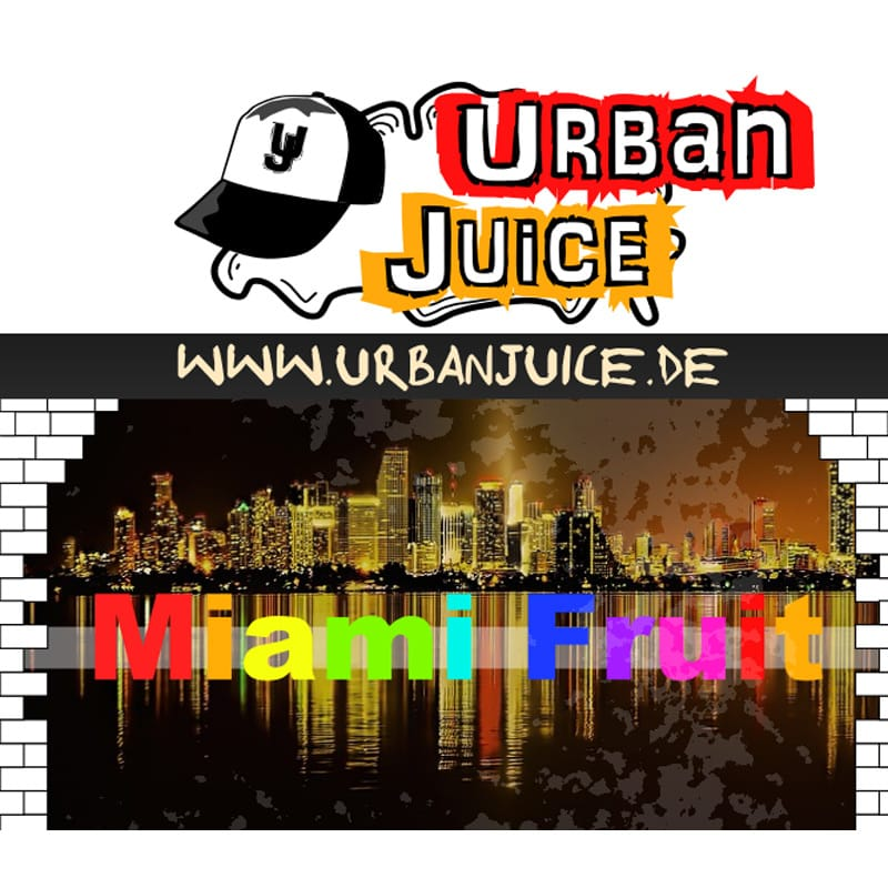 Urban Juice Miami Fruit Liquid 10 ml – Bild 1