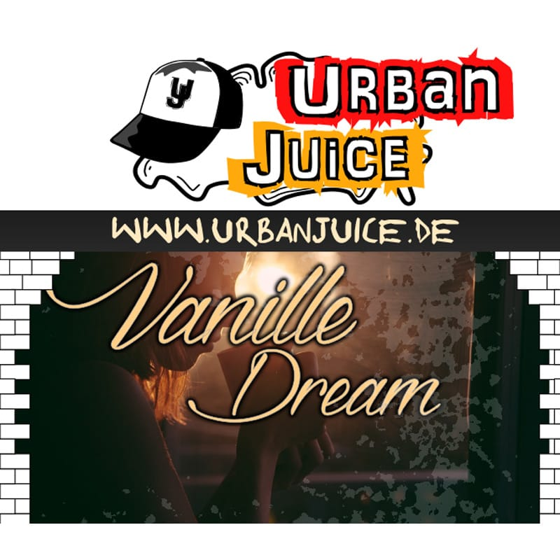 Urban Juice Vanille Dream Liquid 10 ml – Bild 1