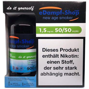 eDampf-Shop Basen Bundle 1000 ml 1.5 mg by Ultrabio