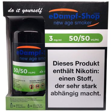 eDampf-Shop Basen Bundle 1000 ml 3 mg by Ultrabio