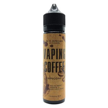 VoVan Vaping Coffee Cappuccino ShortFill Premium Liquid 50 ml