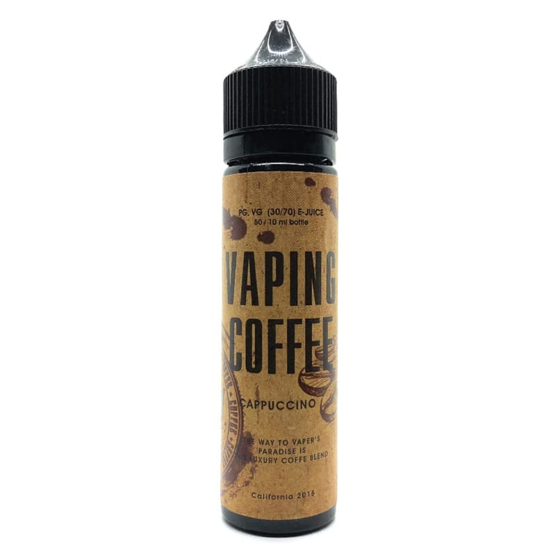 VoVan Vaping Coffee Cappuccino ShortFill Premium Liquid 50 ml – Bild 1