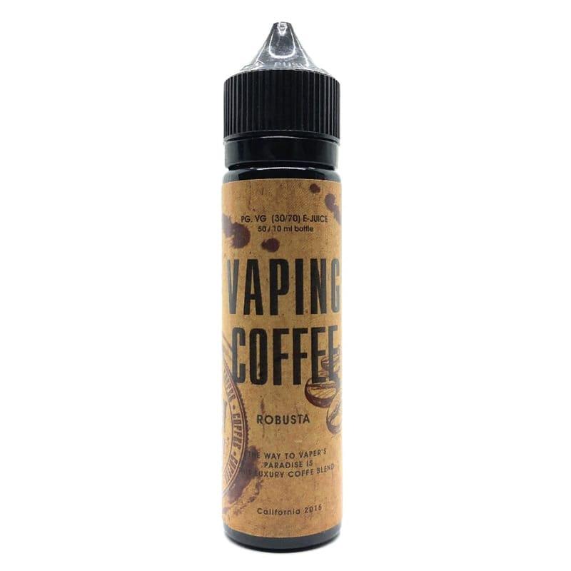 VoVan Vaping Coffee Robusta ShortFill Premium Liquid 50 ml – Bild 1