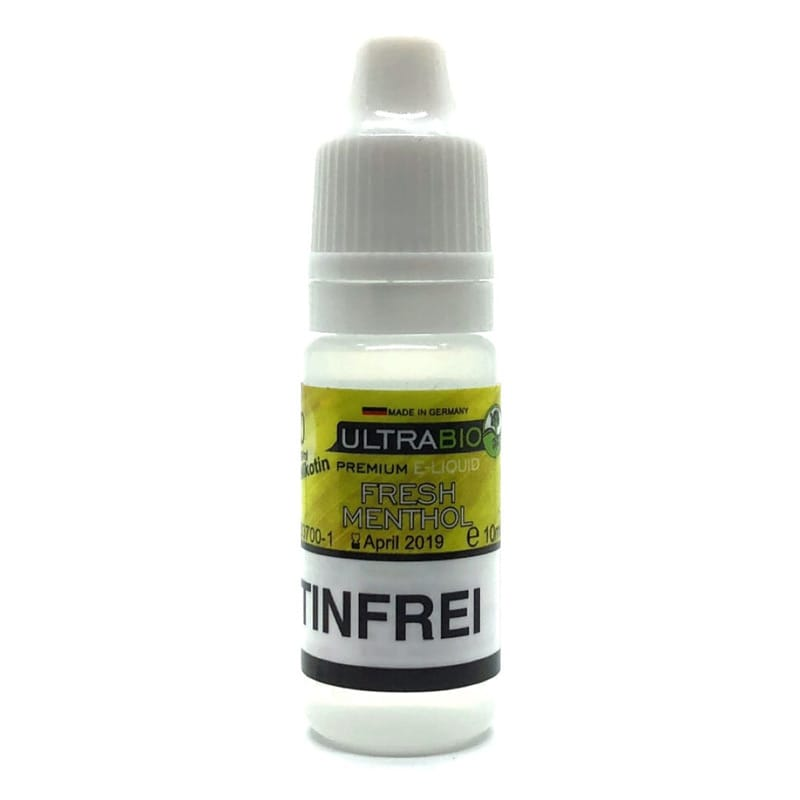 Ultrabio Fresh Menthol Liquid 10 ml – Bild 2
