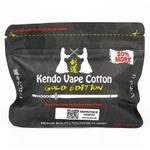 Kendo Vape Cotton Gold Edition Wickelwatte 1.2 m – Bild 1