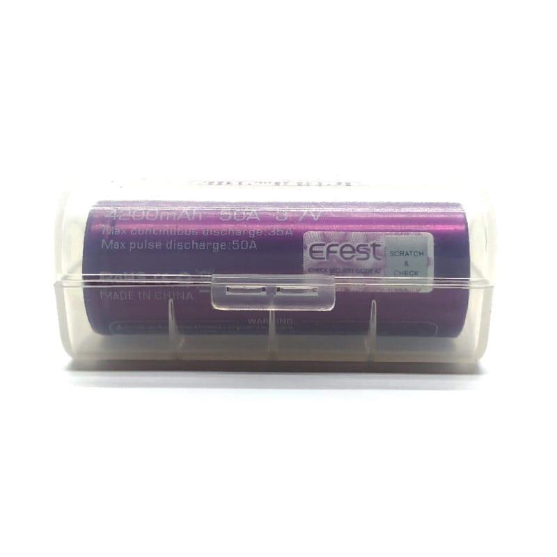 Aufbewahrungsbox für Akkus (1 x 26650) – Bild 1