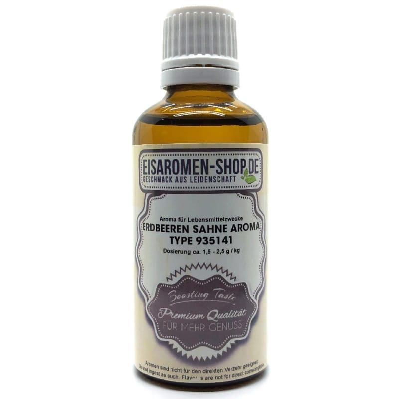 Eisaromen Erdbeeren Sahne Aroma (935141) 50 ml – Bild 1