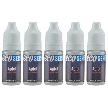 CdD ECO Liquid Apfel 5 x 10 ml Sparpack