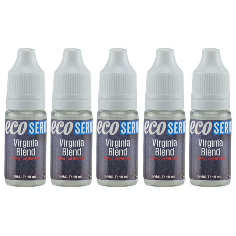 CdD ECO Liquid Virginia Blend 5 x 10 ml Sparpack – Bild 1