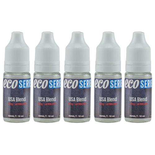 CdD ECO Liquid USA Blend 5 x 10 ml Sparpack