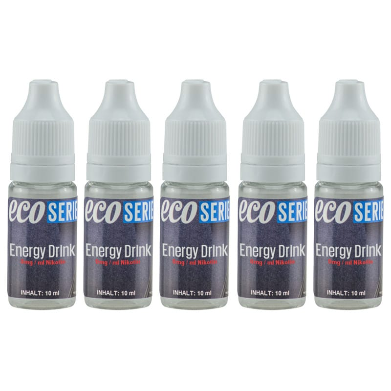 CdD ECO Liquid Energy Drink 5 x 10 ml Sparpack – Bild 1