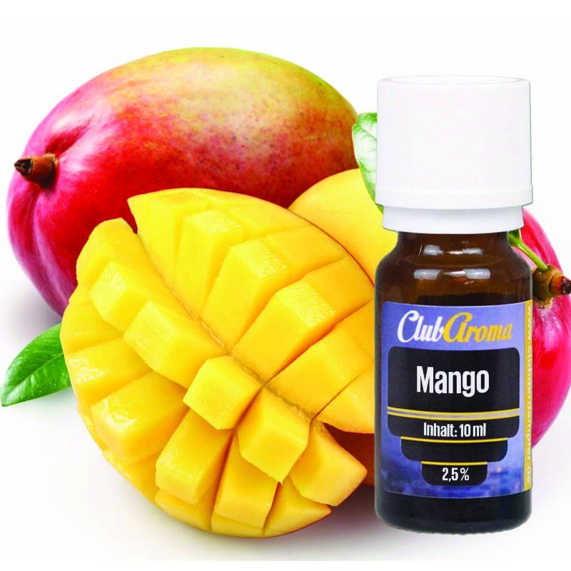 Club der Dampfer Club Aroma Mango 10 ml – Bild 1