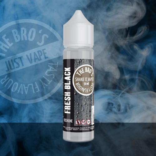 The Bros Fresh Black Freshline ShortFill Liquid 50 ml für 60 ml