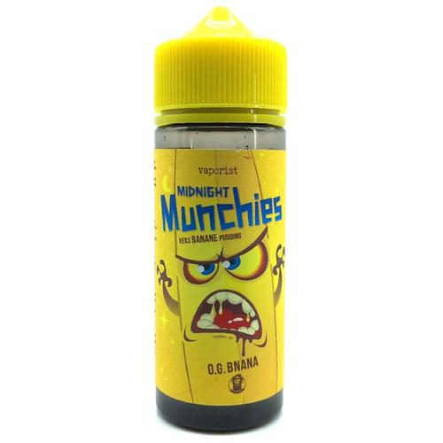 Vaporist Midnight Munchies O.G. BNANA ShortFill 100 ml für 120 ml