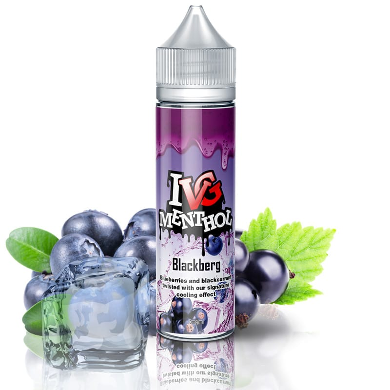 I VG Blackberg Shake and Vape Liquid 50 ml – Bild 2