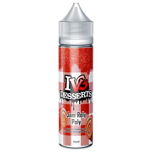 I VG Desserts Jam Roly Poly Shake and Vape Liquid 50 ml