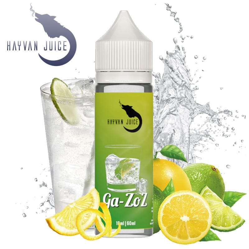 Hayvan Juice Ga-Zoz Longfill Liquid 10 ml für 60 ml – Bild 1