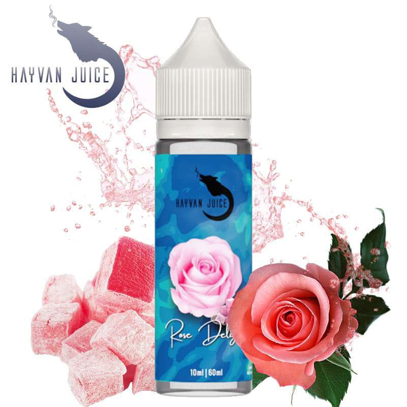 Hayvan Juice Rose Delight Longfill Liquid 10 ml für 60 ml – Bild 1