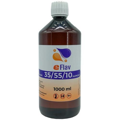 eFlav eLiquid Basis 1000 ml ohne Nikotin