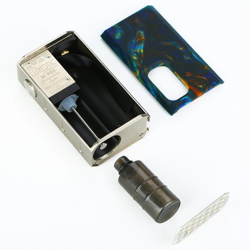 Wismec Luxotic BF Squonk Box Kit mit Tobhino Tröpfelverdampfer – Bild 6