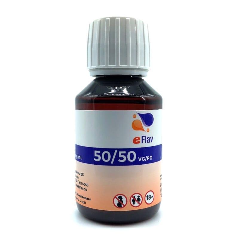 eFlav eLiquid Basis 100 ml ohne Nikotin – Bild 1
