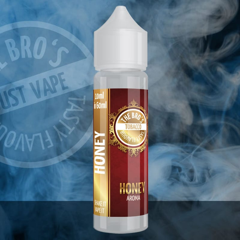 The Bros Tobacco Honey Longfill Aroma 10 ml für 60 ml – Bild 1