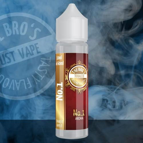 The Bros Tobacco No. 1 Longfill Aroma 10 ml für 60 ml