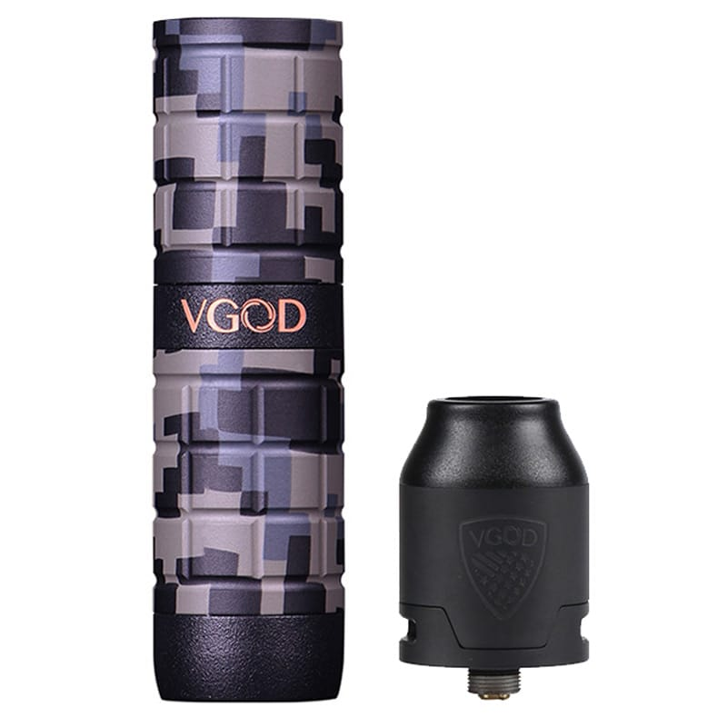 VGOD PRO Mech 2 Set Camo Edition mit Elite RDA 2.0 ml  – Bild 6