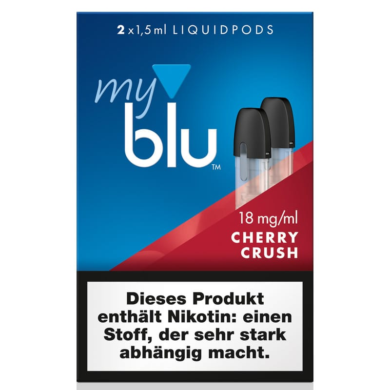 My Blu Cherry Crush Liquidpods 2er Pack – Bild 1