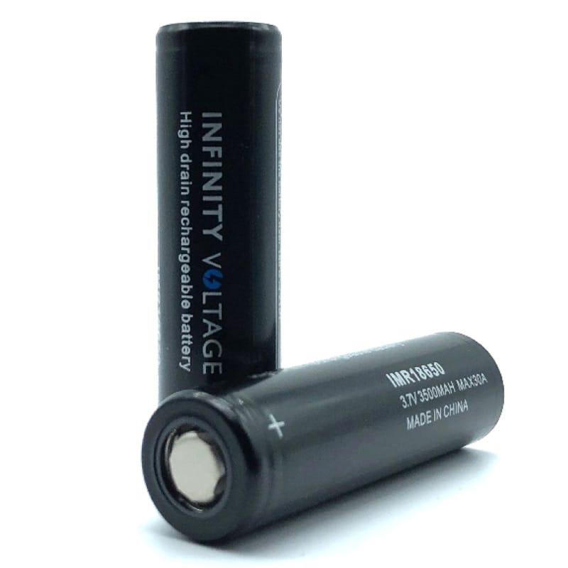Infinity Voltage 18650er Li-Ion Akkuzelle 30 Ampere 3500 mAh 2er-Pack mit Box – Bild 1