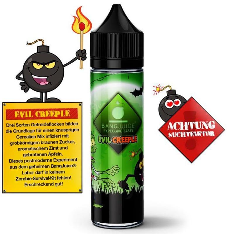 Bang Juice Evil Creeple Longfill Liquid 15 ml für 60 ml – Bild 2
