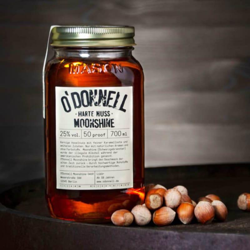 O`Donnell Moonshine Likör Harte Nuss 25% vol 700 ml – Bild 1